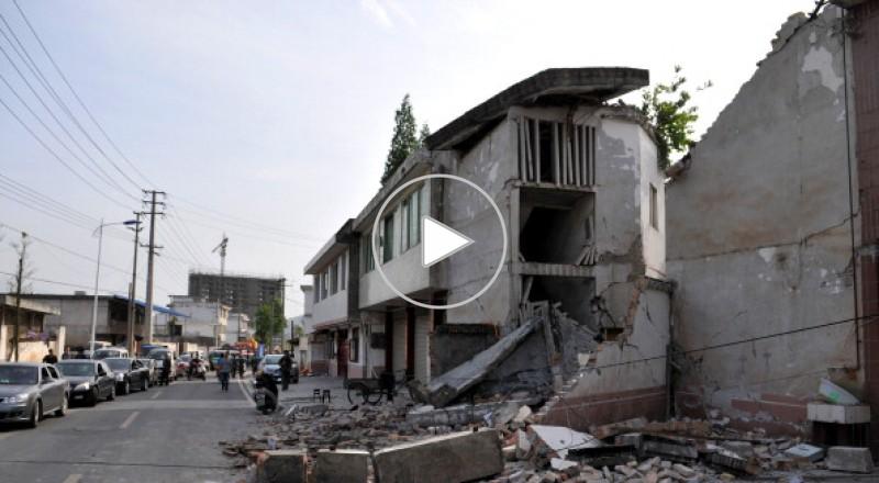 زلزال قوته 6.9 يضرب منطقة سيتشوان الصينية والضحايا بالمئات