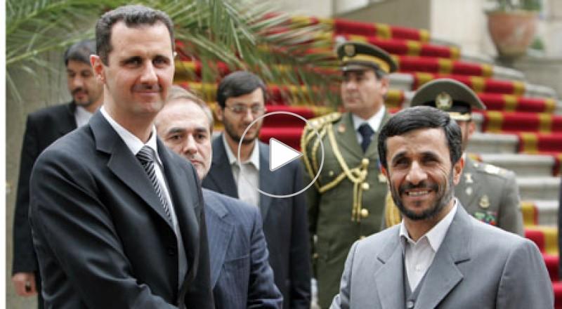 إيران تؤيد بقاء الأسد فى منصبه حتى الانتخابات الرئاسية 2014