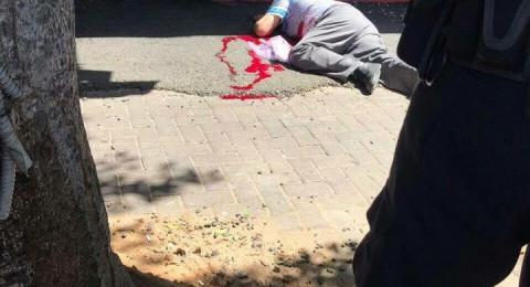نتانيا: تعرض شرطي للطعن واطلاق النار على المشتبه بالطعن