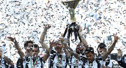 يوفنتوس بطل الدوري الايطالي للمرة السادسة عالتوالي
