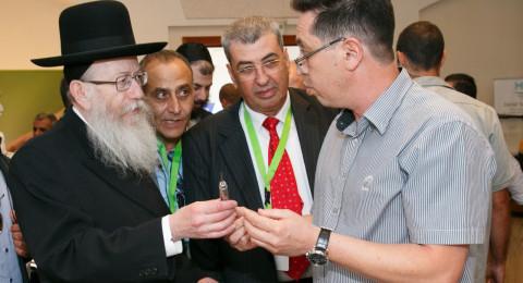 افتتاح مؤتمر جمعية أطباء الأسنان العرب في الناصرة بحضور مئات أطباء الاسنان العرب
