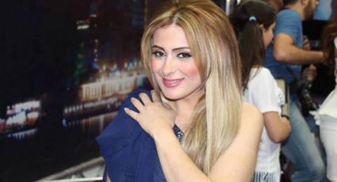 الفنانة السورية فرح يوسف تتعرض لحادث سير مروع