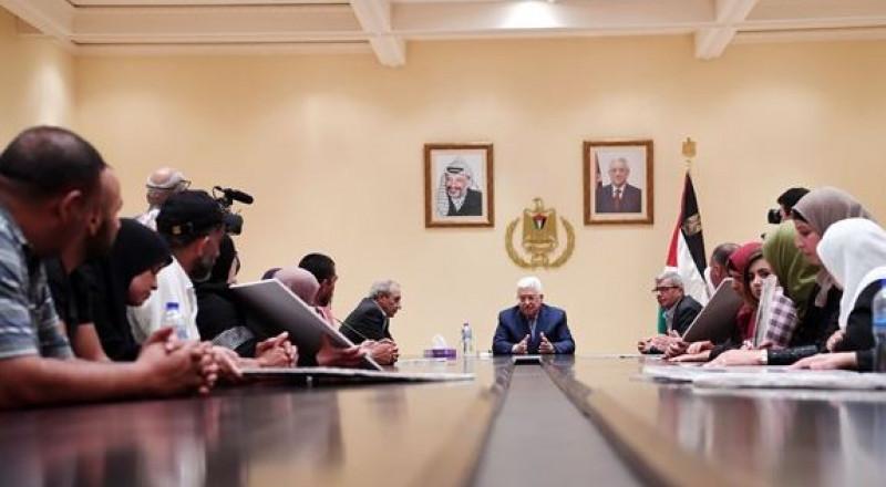 عباس: لن اسمح بفشل إضراب الأسرى