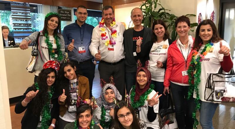 عرابة: مدرسة البخاري الشاملة تنافس في مسابقة عالمية