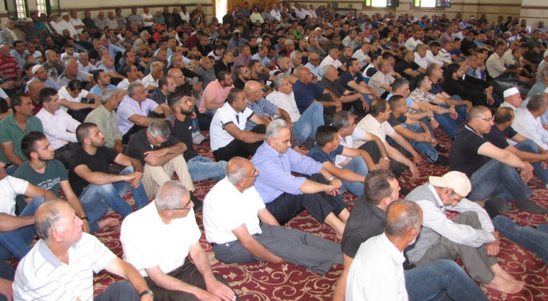 جامع عمر المختار يافة الناصرة يستقبل رمضان بشعائر الجمعة