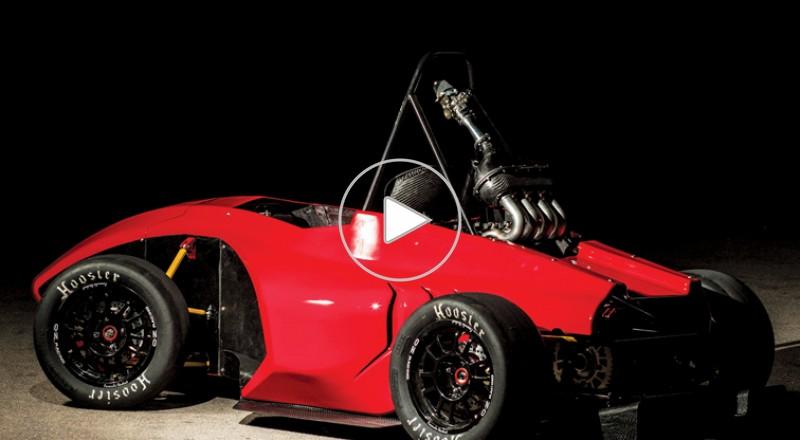 طلّاب معهد الهندسة التّطبيقيّة يصمّمون سيّارة للمشاركة في سباقات الـ