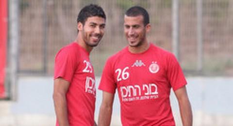 اياد خطبا ضمن تشكيلة المنتخب الاسرائيلي للمباراة امام اليونان