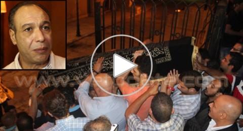 تشييع جثمان الفنان الراحل خالد صالح