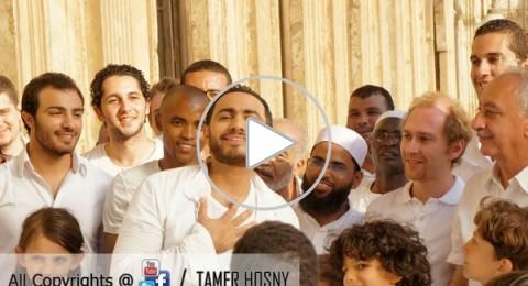 """تامر حسني يصدر """"حبيبي يا رسول الله"""""""