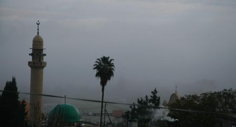 أمطار الخير تتساقط في بلدات المثلث والجليل