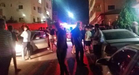 حريق في محيط سكنات الجامعة العربية الامريكية في جنين