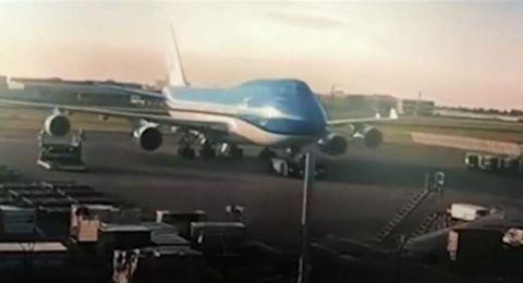 حادث طائرة يكلفها 35 مليون دولار
