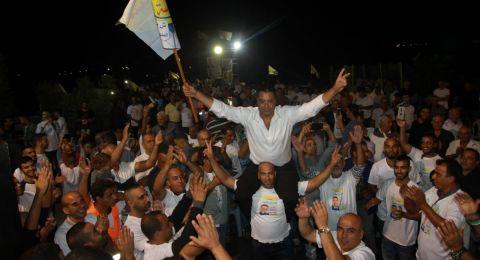 الشبلي أم الغنم: اجتماع انتخابي يتحول إلى المهرجان الأضخم بالمنطقة لدعم المرشح منير شبلي