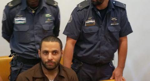 حيفا: الحكم لمدة 22 عامًا على محمد شناوي بتهمة قتل مواطن يهودي