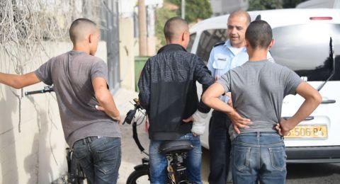 حملة مكثفة لشرطة السير في منطقة المثلث