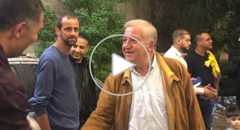الناصرة: مشاركة واسعة في الاجتماع الشعبي للعفيفي في الأحياء الجنوبية