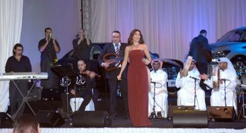 النجمة يـــارا في حفل خاص في الدوحة
