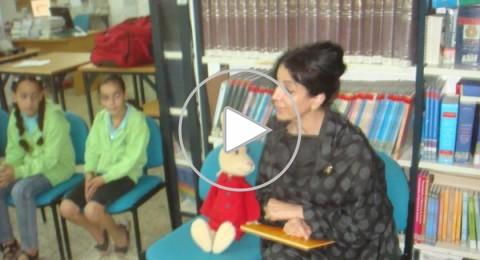 دير الاسد: فعاليات وورشات للطلاب مع الفنانة روضة سليمان