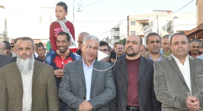 النائب مسعود غنايم:مشاركتي في مظاهرة ابو سنان من اجل الجميع!