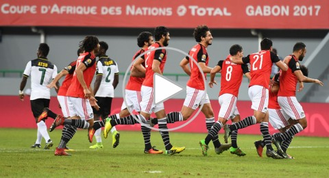 مصر تضرب موعدا مع المغرب في ربع نهائي كأس إفريقيا