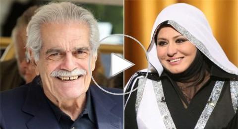 حقيقة زواج سهير رمزي من عمر الشريف