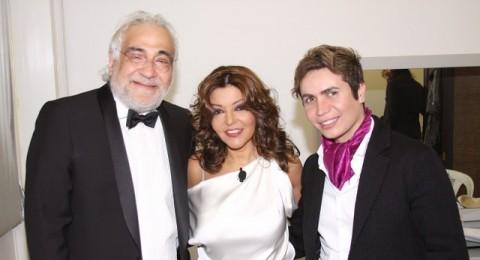 الفنانة سميرة سعيد تختار صديقها المزيّن اللبناني جو رعد