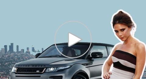 بالفيديو وبالصور… فيكتوريا بيكهام تصمم سيارات