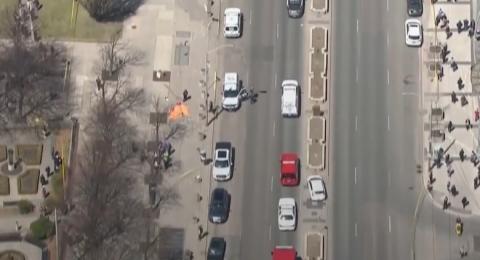 كندا: شاحنة تدهس 10 أشخاص