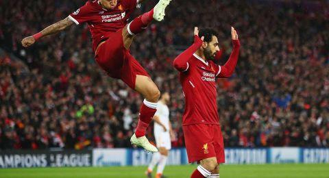 صلاح يقود ليفربول للفوز على روما والاقتراب من النهائي