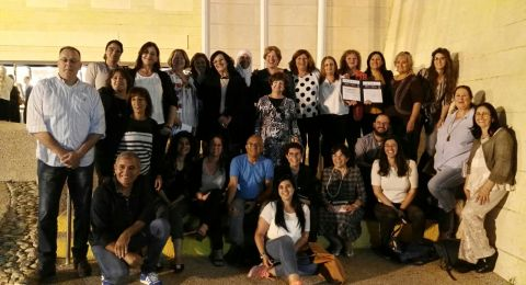 بلدية حيفا تفوز بـوسام