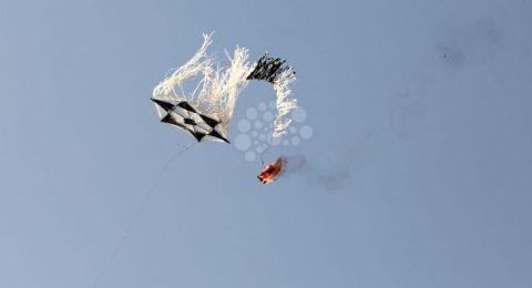 جيش الاحتلال يبحث عن حلول للطائرات الورقية الحارقة
