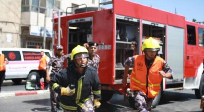 عكا: اصابة شخصين جراء احتراق بيت
