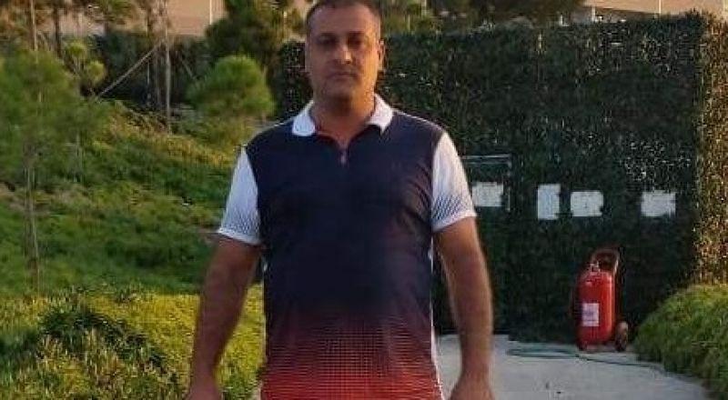 السائق المفقود من الطيبة هو ايمن جابر (48 عاما)
