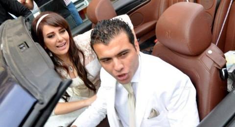 عماد متعب ويارا ناعوم يتزوجان على الطريقة الامريكية