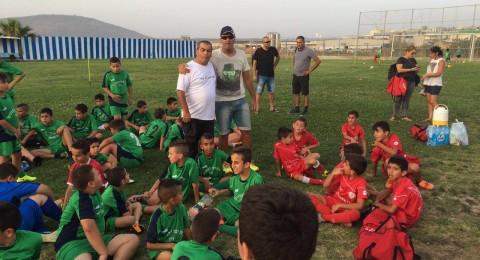 ملعب قرية نين يستضيف مدارس كرة قدم يهودية مجاورة لتعزيز الحياة المشتركة