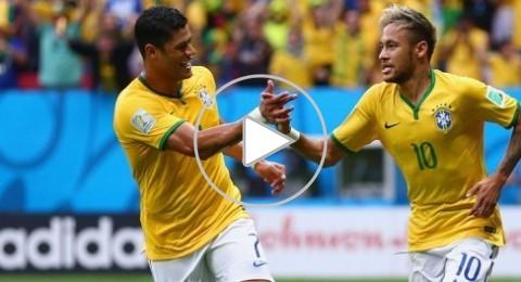 ثنائية نيمار تقود البرازيل لسحق الكاميرون برباعية وتصدر المجموعة