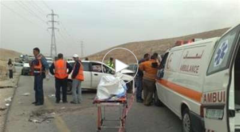مصرع مواطنين وإصابة 9 بحادث سير بالضفة