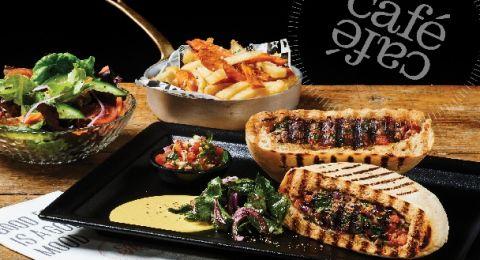 شبكة المقاهي الأكبر كافيه كافيه، تقدم قائمة الطعام الجديدة وفيها مجموعة واسعة من مذاقات البحر الابيض المتوسط والوجبات الفاخرة