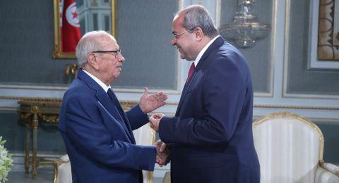 الطيبي يلتقي بالرئيس التونسي والأخير يعبّر عن رفض بلاده القاطع لقانون القومية