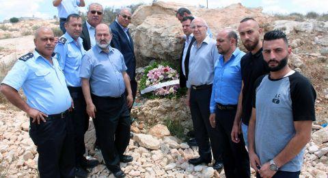 رئيس الجامعة العربية الامريكية ووفد من النواب العرب في الداخل الفلسطيني يبحثان سبل الحد من حوادث السير