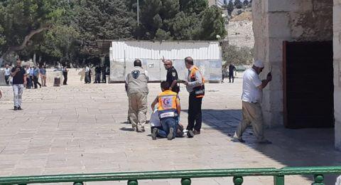 الشرطة الاسرائيلية تبقي خمسة قاصرين رهن الإعتقال بعد أحداث الاقصى