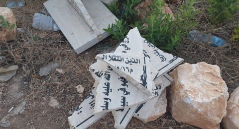 تكسير النصب التذكاري لابريق ودرويش: مناشدات بوقف تناقل الاشاعات والترويج لها