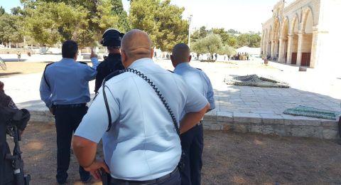 مواجهات في الأقصى عقب اقتحام جيش الاحتلال لباحاته