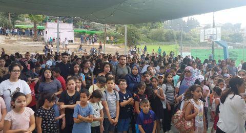 افتتاح مخيم الناصرة البلدي بحضور رئيس البلدية وسط فرحة الاطفال وابتساماتهم