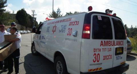 سقوط عامل (40 عاماً) من علو في ورشة بناء في عتليت