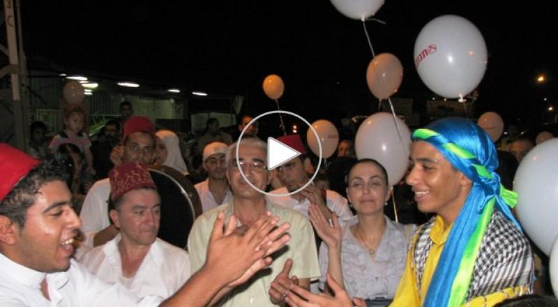 كفرقرع: اكثر من 1000 مواطن في مسيرة كرنفال رمضان