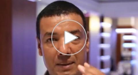 الجخ يوجه رسالة لشباب فلسطين قبل أمسيته المنتظرة في رام الله