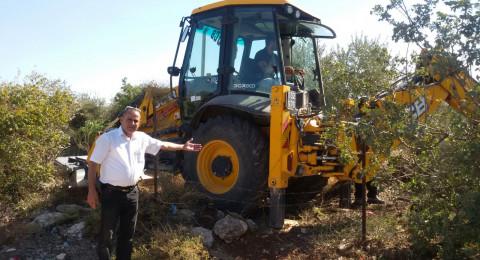 بدء أعمال بناء مدرسة ابتدائية جديدة في عرب الشبلي