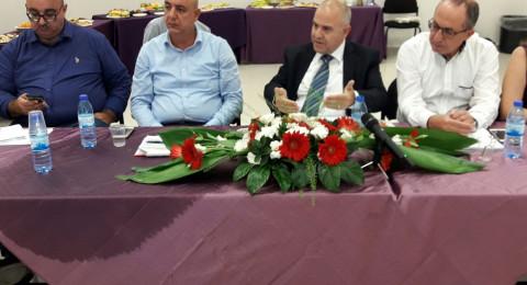 المدير العام للوزارة شموئيل أبواب يحلّ ضيفا على بلدة أبو غوش ويلتقي مديري المدارس.