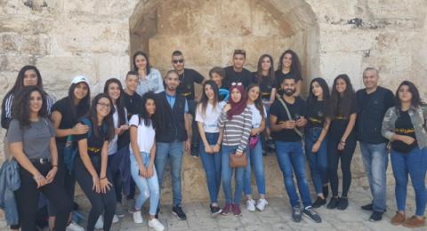 جمعية انماء في جولة بين أزقة وحارات مدينة القدس